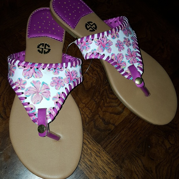 4f5b45082 SIMPLY SOUTHERN FLIP FLOPS SANDALS